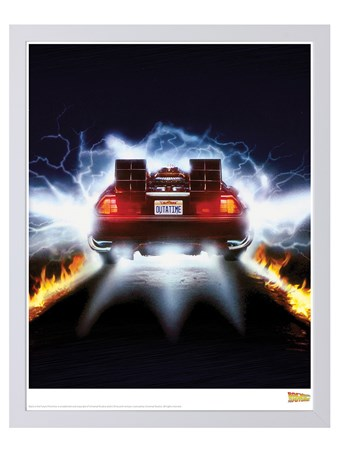 Delorean Fire - Back To The Future