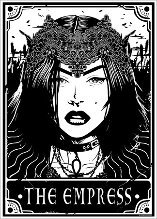 The Empress - Deadly Tarot