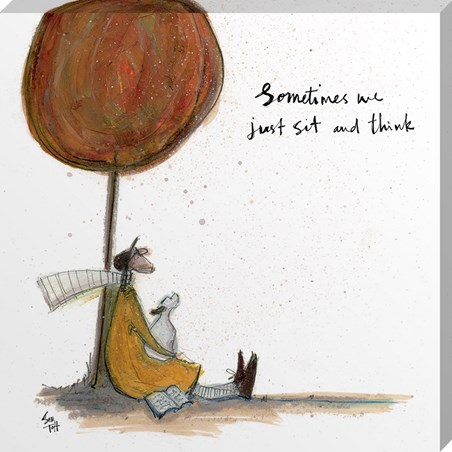 Sam Toft Print Just Beginning To See The Light 40x40cm