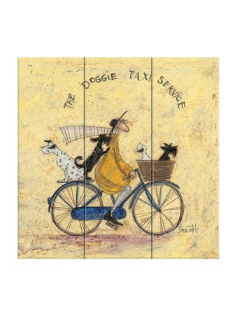 The Doggie Taxi Service - Sam Toft