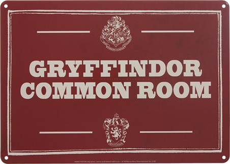 Hogwarts Gryffindor Common Room - Harry Potter