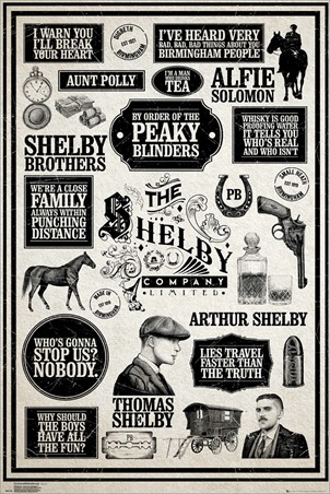 Infographic - Peaky Blinders