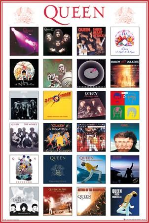 Album Covers, Queen