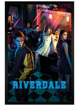 Black Wooden Framed Season One Key Art - Riverdale