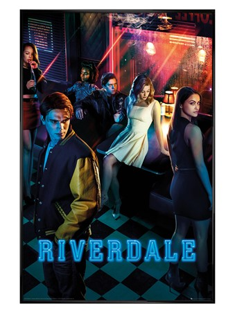 Gloss Black Framed Season One Key Art - Riverdale