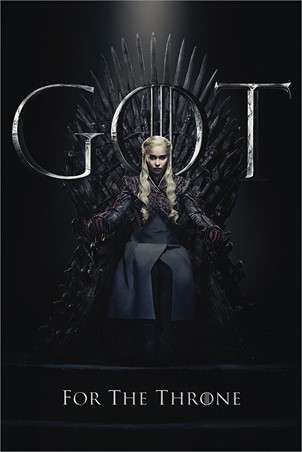 Daenerys For The Throne - Game Of Thrones