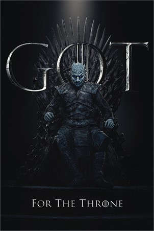 The Night King For The Throne - Game Of Thrones