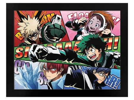 Comic Action - My Hero Academia