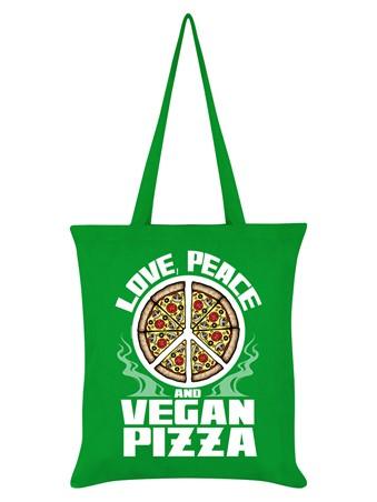 Love Peace & Vegan Pizza - Makes The World Go Around