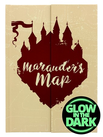 Glow In The Dark Marauders Map - Harry Potter