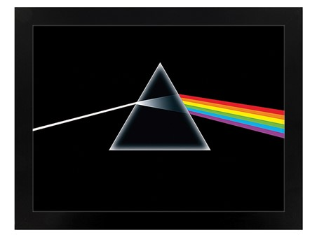Black Wooden Framed Dark Side of the Moon - Pink Floyd