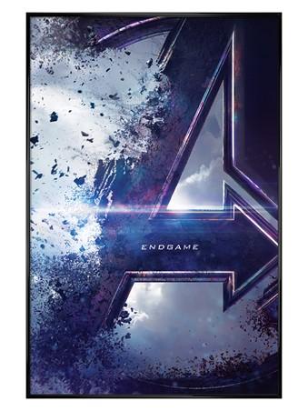 Gloss Black Framed Endgame Teaser - Avengers