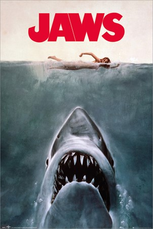 Jaws Steven Spielberg Poster