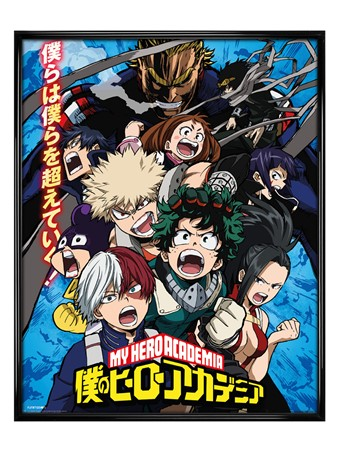 Gloss Black Framed Season 2 - My Hero Academia