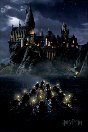 Hogwarts Boats - Harry Potter