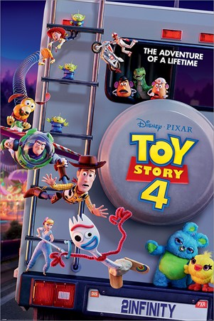 Adventure Of A Lifetime Toy Story 4 Poster