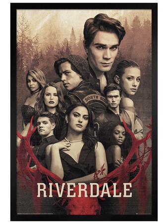 Black Wooden Framed Season 3 - Riverdale