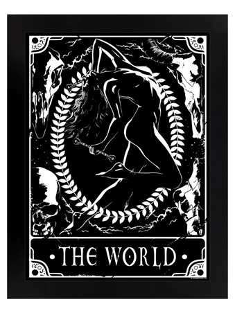 The World - Deadly Tarot
