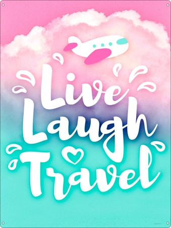 Live Laugh Travel - The World