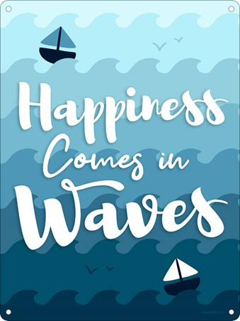 Happiness Comes In Waves - Motication