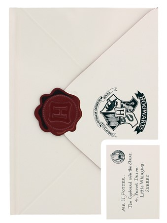 Hogwarts Letter - Harry Potter