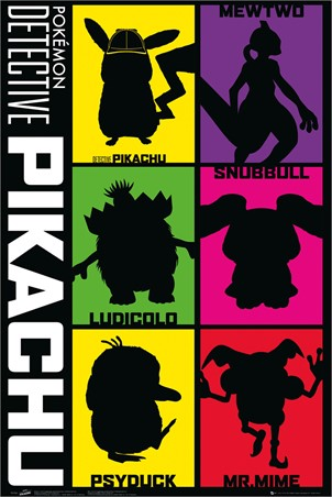 Silhouette - Detective Pikachu