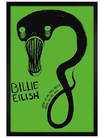 Black Wooden Framed Ghoul - Billie Eilish