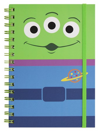 Toy Story Alien A5 Wiro Notebook -