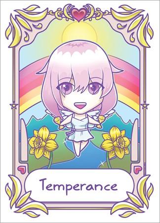 Temperance - Deadly Tarot Kawaii