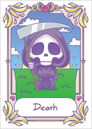Kawaii - Death - Deadly Tarot