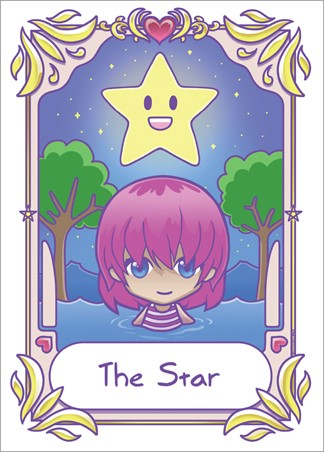 The Star - Deadly Tarot Kawaii