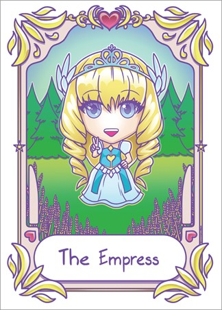 Kawaii The Empress - Deadly Tarot