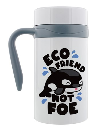 Eco Friend Not Foe - Whale