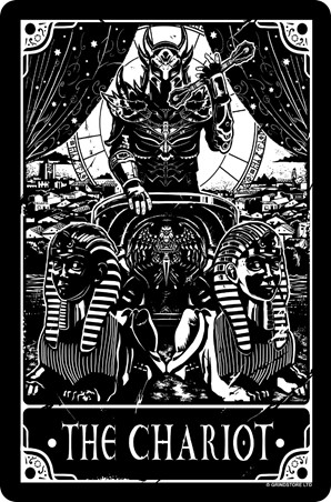 The Chariot - Deadly Tarot