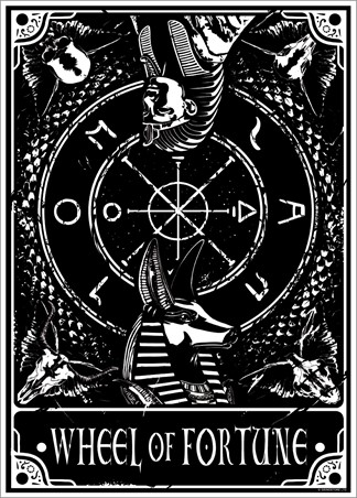 Wheel Of Fortune - Deadly Tarot