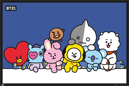 Group Shot! - BT21
