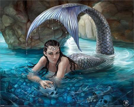 Hidden Depths - Anne Stokes