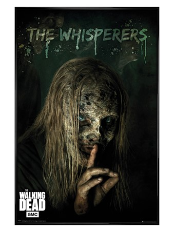 Gloss Black Framed The Whisperers - The Walking Dead
