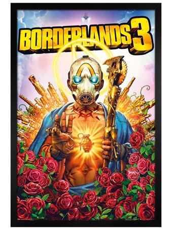 Black Wooden Framed Borderlands 3 - Ultimate Space Western