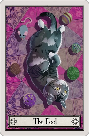 The Fool - Deadly Tarot Felis