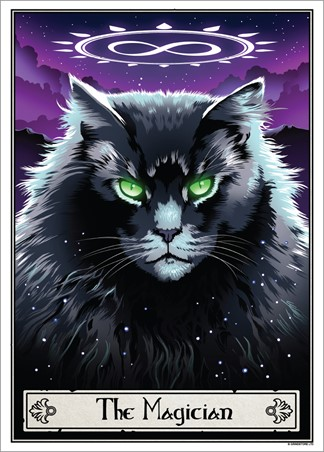 The Magician - Deadly Tarot Felis