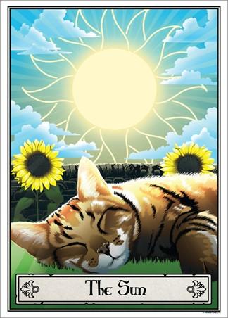 The Sun - Deadly Tarot Felis
