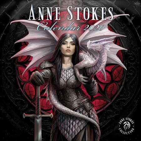A Year of Fantasy - Anne Stokes 2020