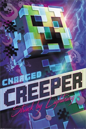 Charged Creeper, Minecraft