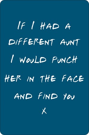 If I Had A Different Aunt - You Can't Choose Your Family