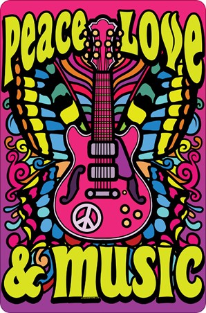 The Only Way To Live - Peace, Love & Music