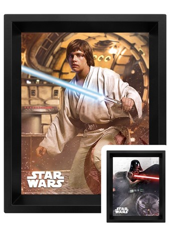 Vader Vs Skywalker 3D Lenticular - Star Wars