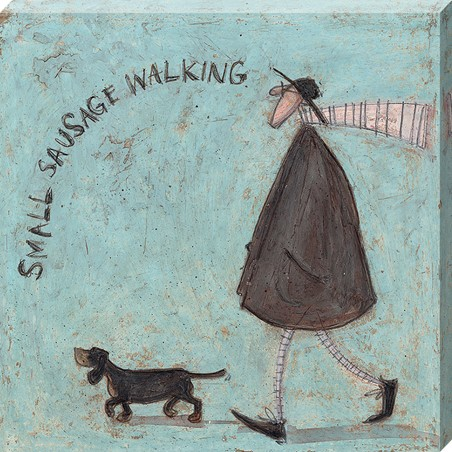 Small Sausage Walking - Sam Toft