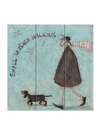 Small Sausage Walking - Sam Toft