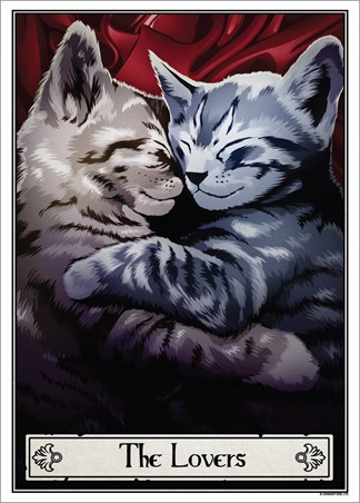 The Lovers - Deadly Tarot Felis
